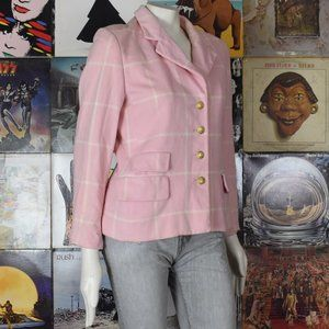 True Vintage Escada Wool Angora Blend Jacket